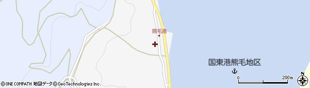 大分県国東市国見町小熊毛2840周辺の地図