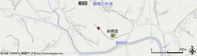 福岡県飯塚市相田周辺の地図