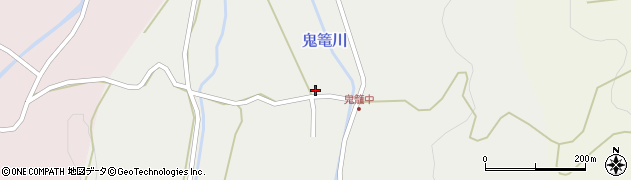 大分県国東市国見町鬼籠489周辺の地図