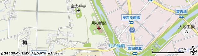 月の輪苑周辺の地図