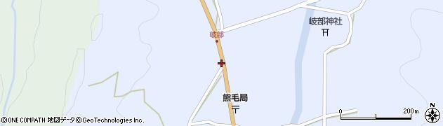 大分県国東市国見町岐部361周辺の地図