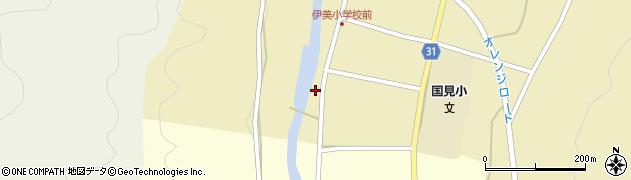 大分県国東市国見町中1601周辺の地図