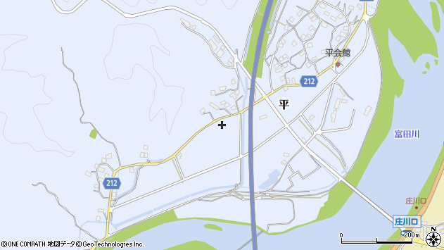 〒649-2331 和歌山県西牟婁郡白浜町平の地図