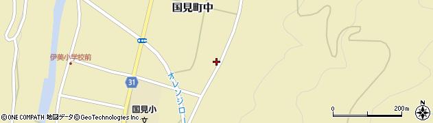 大分県国東市国見町中832周辺の地図