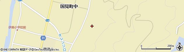 大分県国東市国見町中354周辺の地図