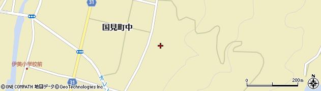 大分県国東市国見町中382周辺の地図