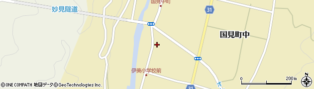 大分県国東市国見町中1013周辺の地図