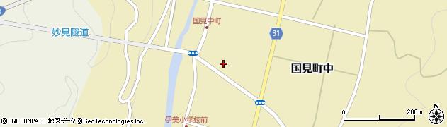大分県国東市国見町中973周辺の地図