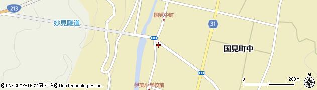 大分県国東市国見町中1028周辺の地図