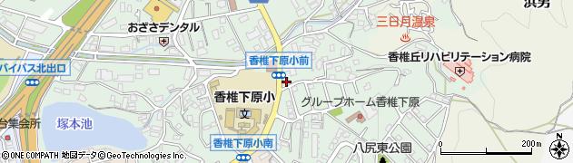 ショア(choix)周辺の地図