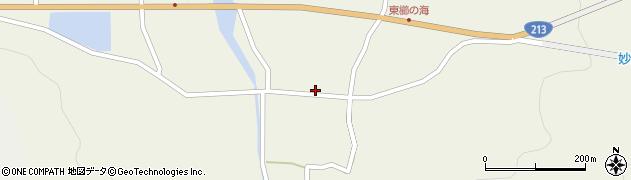 大分県国東市国見町櫛海27周辺の地図