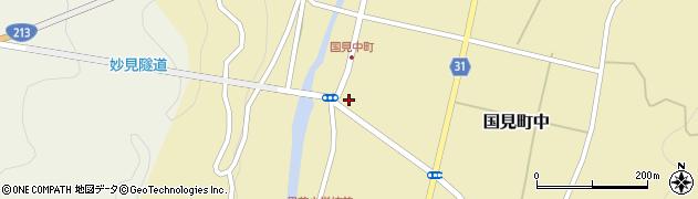 大分県国東市国見町中周辺の地図