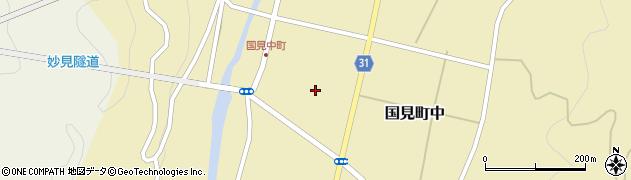 大分県国東市国見町中972周辺の地図