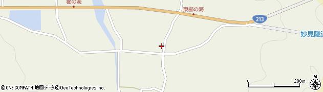 大分県国東市国見町櫛海周辺の地図