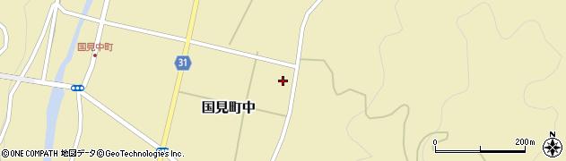 大分県国東市国見町中水口周辺の地図