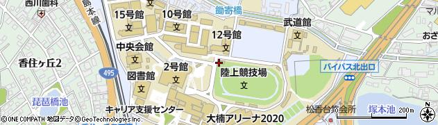 九州産業大学総務部 学外連携課周辺の地図