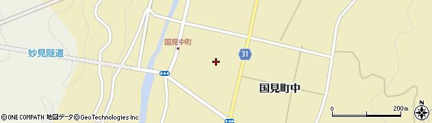 大分県国東市国見町中1105周辺の地図