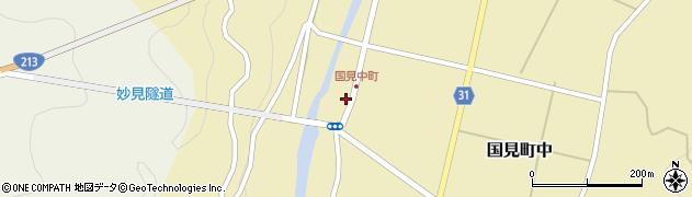 大分県国東市国見町中1052周辺の地図