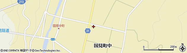 大分県国東市国見町中1138周辺の地図