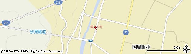 大分県国東市国見町中1058周辺の地図