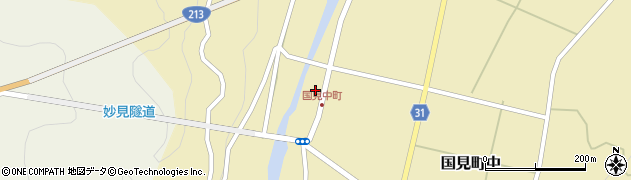大分県国東市国見町中1653周辺の地図