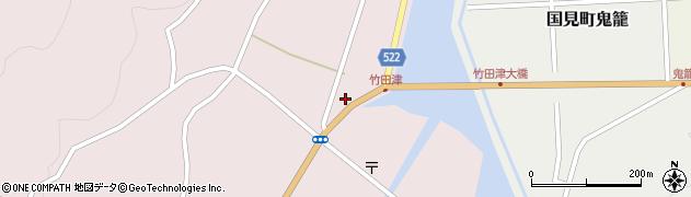 大分県国東市国見町竹田津3715周辺の地図