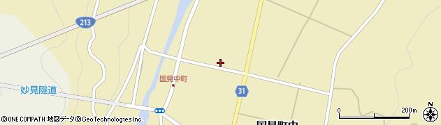 大分県国東市国見町中1124周辺の地図