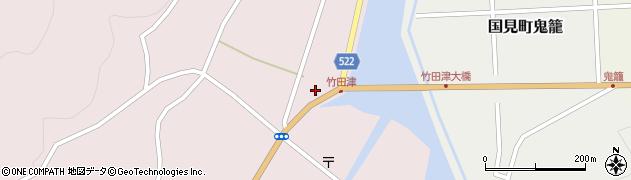 大分県国東市国見町竹田津3718周辺の地図