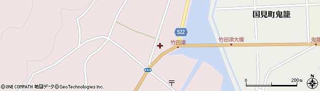 大分県国東市国見町竹田津3713周辺の地図