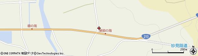 大分県国東市国見町櫛海109周辺の地図