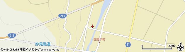 大分県国東市国見町中1489周辺の地図