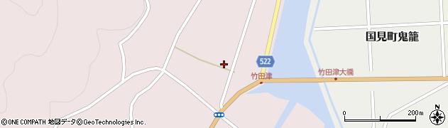 大分県国東市国見町竹田津3729周辺の地図