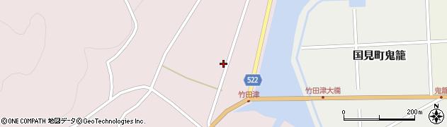大分県国東市国見町竹田津3733周辺の地図