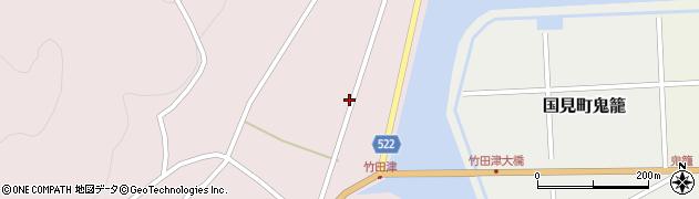 大分県国東市国見町竹田津3736周辺の地図