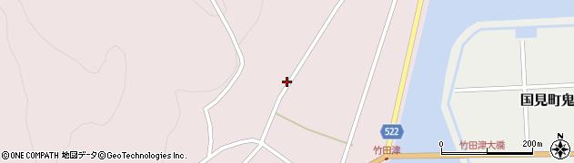 大分県国東市国見町竹田津4767周辺の地図