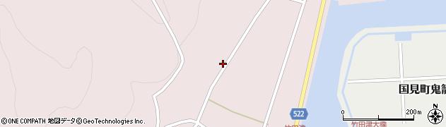大分県国東市国見町竹田津4369周辺の地図