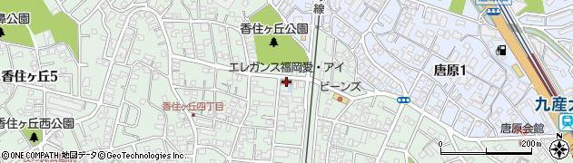 株式会社エレガンス福岡 愛・あい生きいきセンター周辺の地図