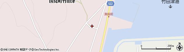 大分県国東市国見町竹田津3871周辺の地図