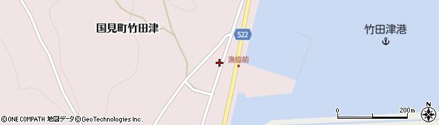 大分県国東市国見町竹田津3904周辺の地図