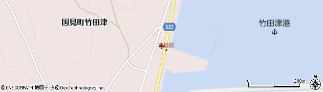 大分県国東市国見町竹田津3909周辺の地図
