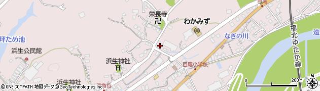 福岡県飯塚市目尾周辺の地図
