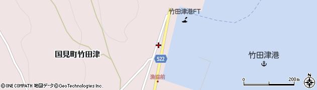 大分県国東市国見町竹田津3926周辺の地図