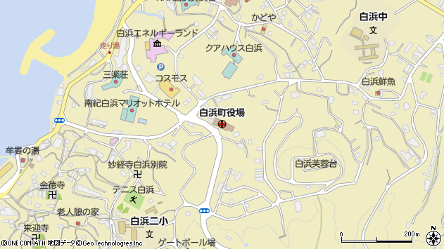 〒649-2200 和歌山県西牟婁郡白浜町(以下に掲載がない場合)の地図