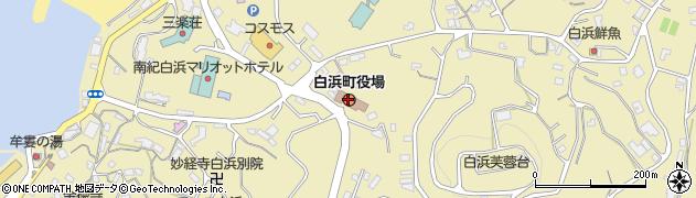 和歌山県白浜町(西牟婁郡)周辺の地図