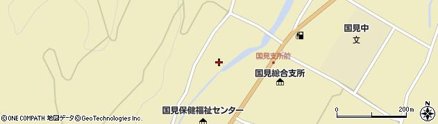大分県国東市国見町伊美川西周辺の地図