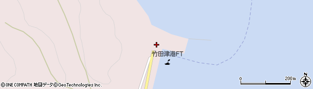 大分県国東市国見町竹田津2周辺の地図
