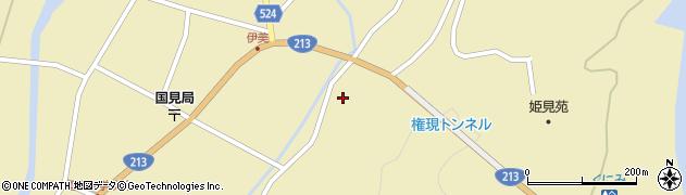 大分県国東市国見町伊美3521周辺の地図