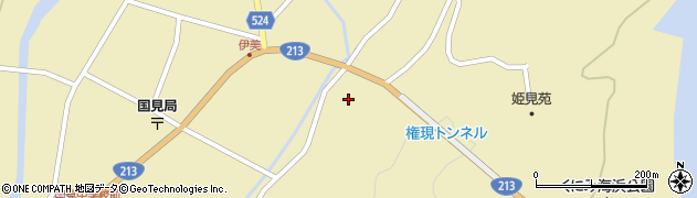 大分県国東市国見町伊美3518周辺の地図