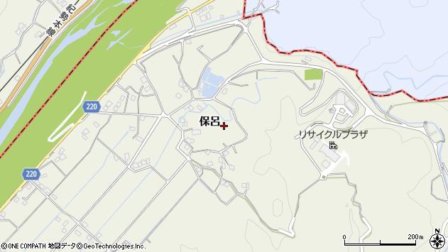 〒649-2321 和歌山県西牟婁郡白浜町保呂の地図