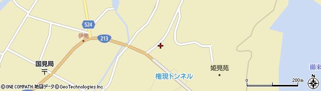 大分県国東市国見町伊美3565周辺の地図